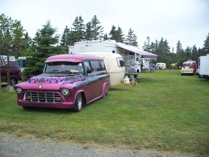 unique car present at car show murphys camping nova scotia 2008 800px